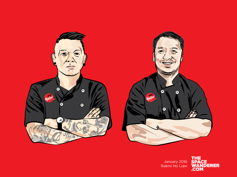 Holiaw's Chefs Illustration