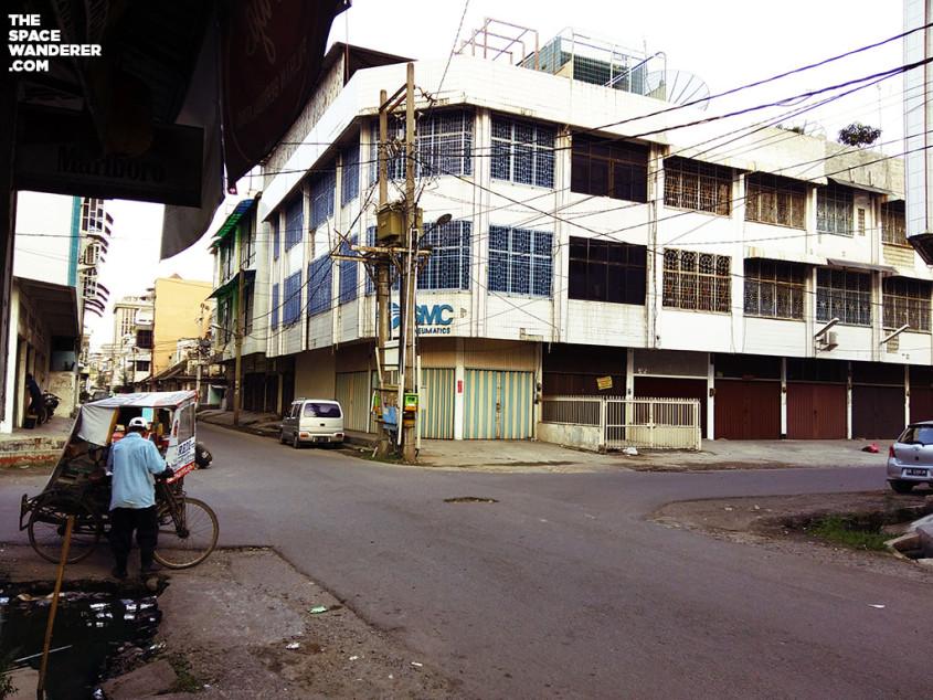 Sudut kota tua di kota Medan