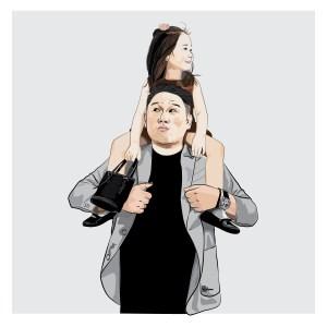 Joshua Artono and his Jeralyn Melody