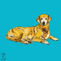 Dog Drawing : Coco and Abel