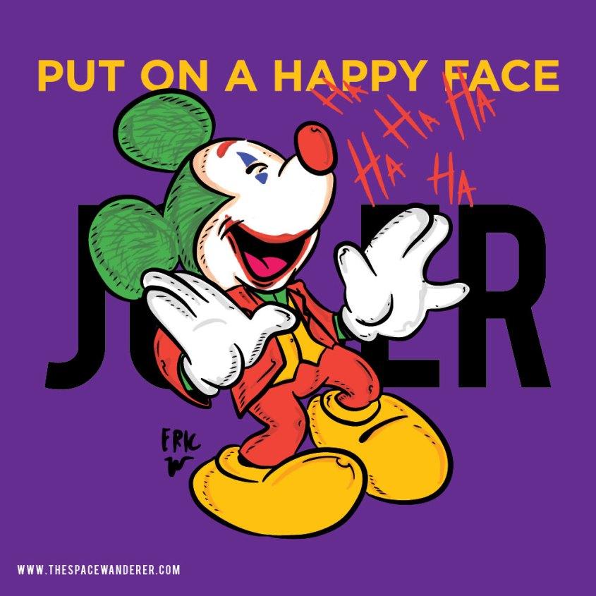 joker mickey mouse