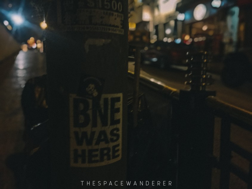 BNE was here Hong Kong
