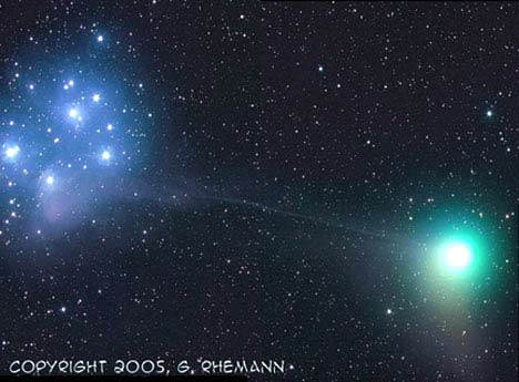 Image of Comet Machholz by Gerald Rhemann.