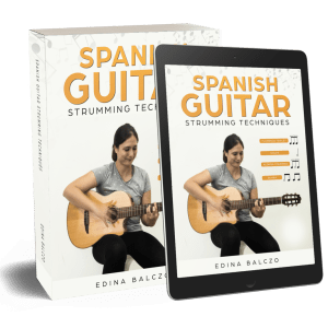 Spanish Guitar Strumming Techniques Book&DVD and eBook