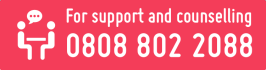 Call 08088022088 for support and counselling