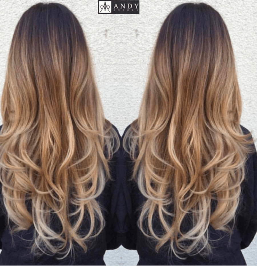 Long Layers and Curls