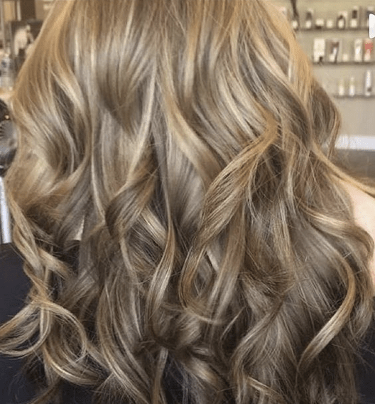 Honey Layered Long Hairstyle