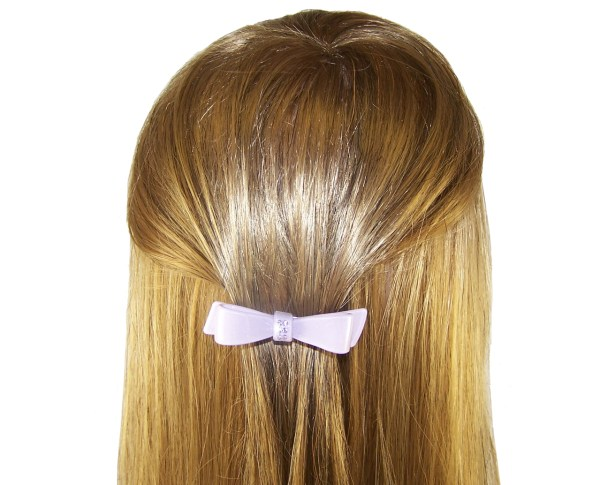 Girls lilac sparkly hair slide