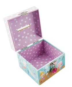 Mermaids sparkly money box