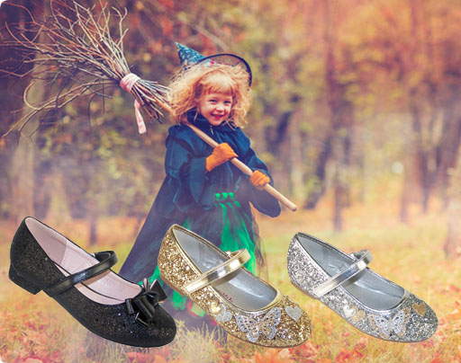 Witches party shoes