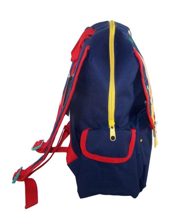 Childs Peter Rabbit dark blue satchel backpack -5418