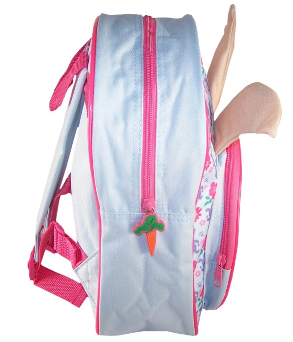 Childs Peter Rabbit Lily pale blue and pink backpack -5876