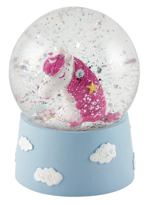 Childrens mini Unicorn snow globe-6072
