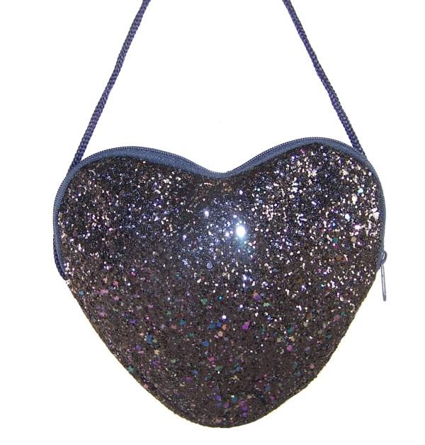 Girls dark blue velvet ballerina party shoes - Gift Set-6179