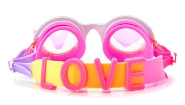 Girls swimming goggles