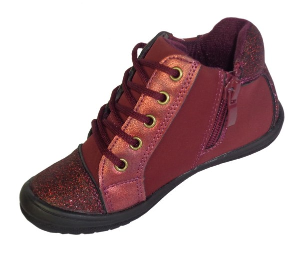 girls red sparkly boots