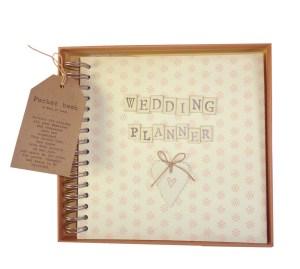Boxed pocket book Wedding Planner
