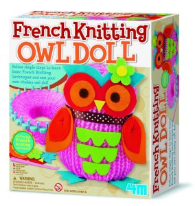Children's French Knitting Craft Set