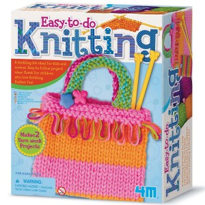 Children's Knitting Craft Set