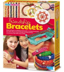 Childrens friendship bracelets craft kit
