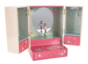 Enchanted Musical Wardrobe Jewellery Box