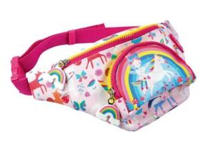 Girls Cute Rainbow Fairy Adjustable Belt Bag