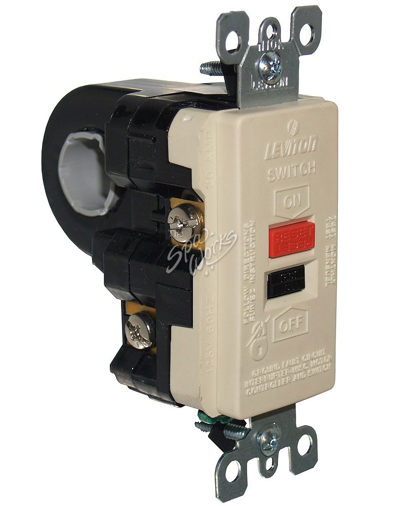 hight resolution of leviton 240 volt high current gfci spa ground fault circuit