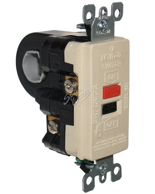 small resolution of leviton 240 volt high current gfci spa ground fault circuit