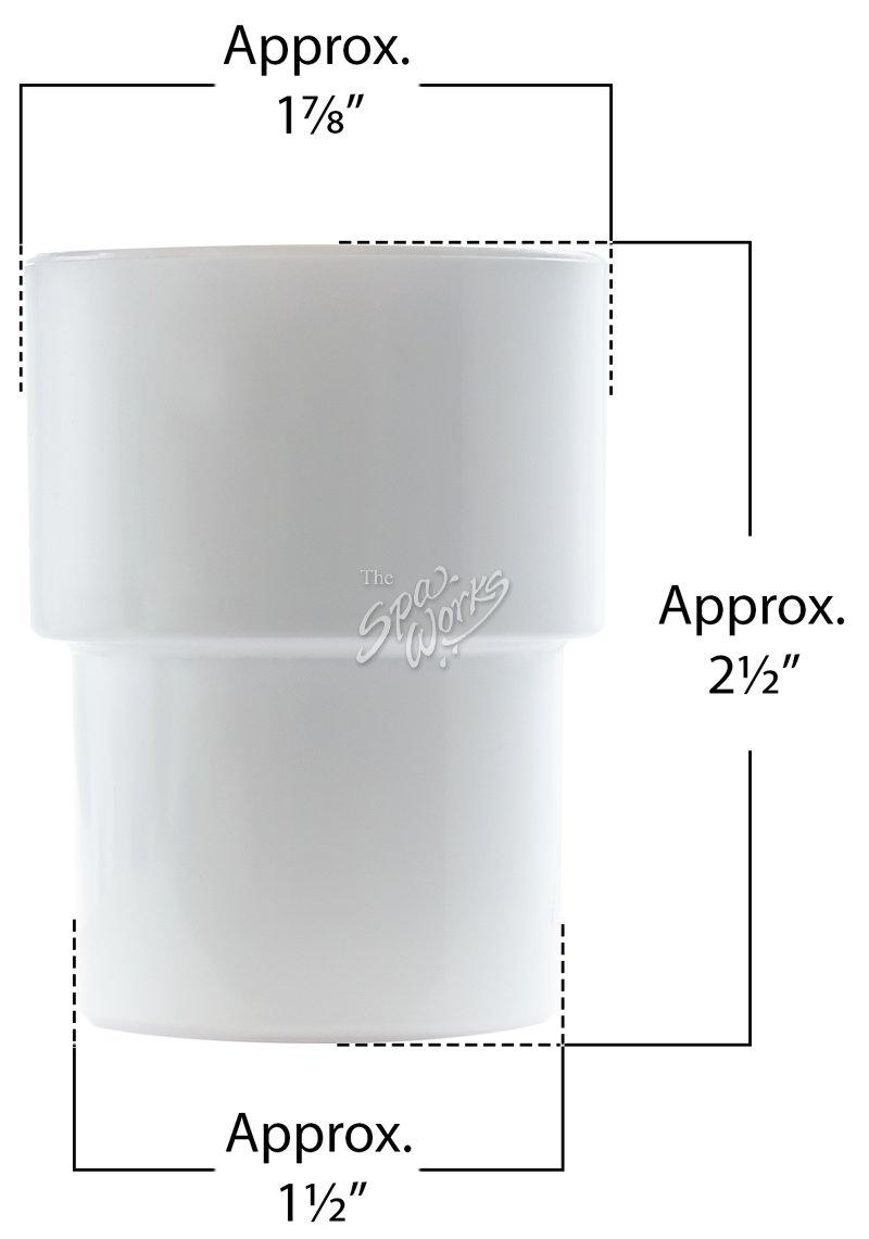 medium resolution of 1 1 2 inch pvc pipe extender