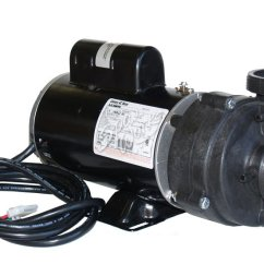 Jacuzzi Hot Tub Wiring Diagram Trailer Plug With Electric Brakes Sundance Spa 2 Hp Speed 240 Volt Vico Pump And Motor | The Works
