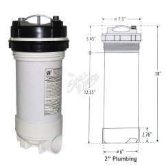 Cal Spa Whisper Power Unit Wiring Diagram Plug Australia Plumbing Online 50 Sq Ft Top Load Cartridge Filter The Works Septic Tank