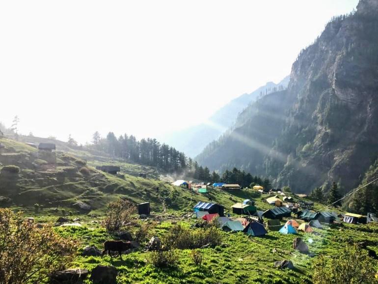 Camp Site, Kheerganga