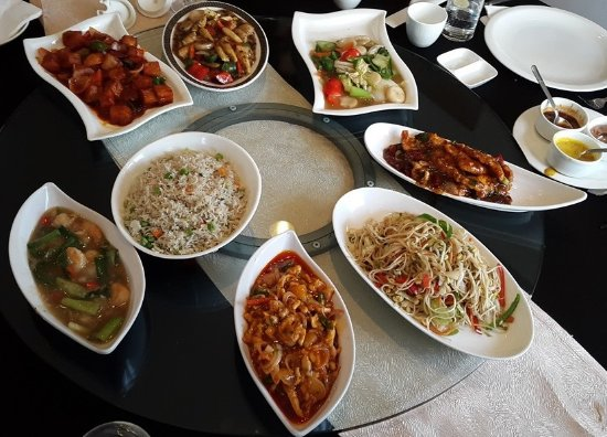 Food at Oriental Blossom