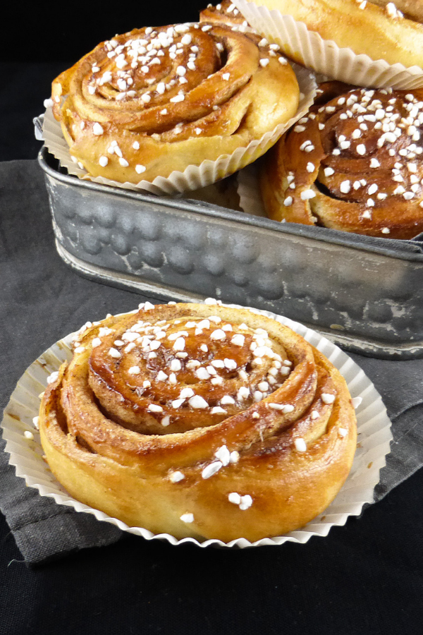 Classic Swedish Cinnamon Buns (bread machine)