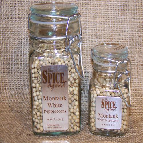 Montauk White Peppercorns