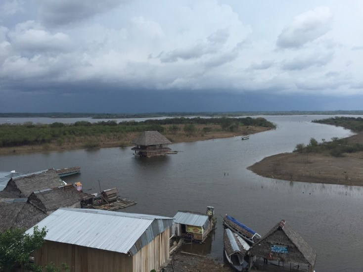 A storm's a brewing - Iquitos