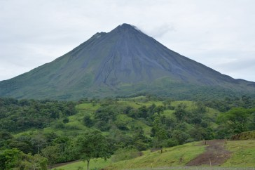 Perfect view of Volcan Arenal