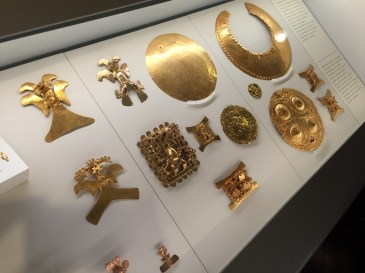 Beautiful collection of Pre-Colombian gold