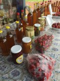 Strawberries and other local produce
