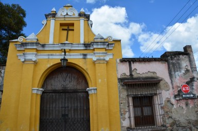 Part of the San Cristobal compound