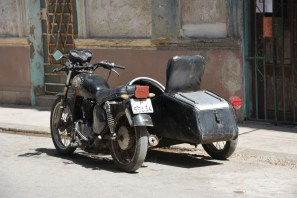 Motorcycles and sidecars are very popular