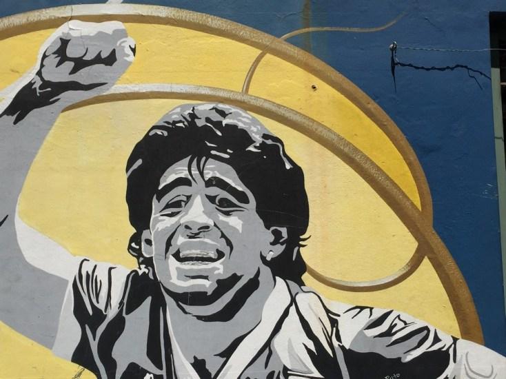 Maradona - probably has an accent!
