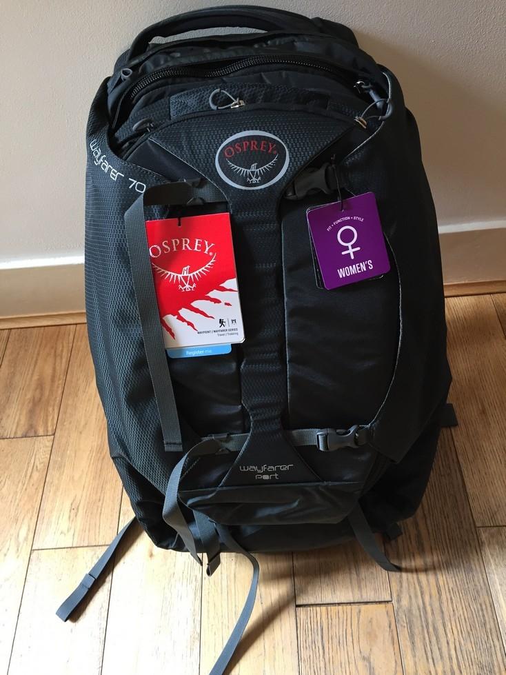 Shiny new bag (not so shiny anymore!)