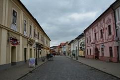 Town centre of Kežmarok