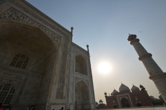 Taj, Mosque and minaret