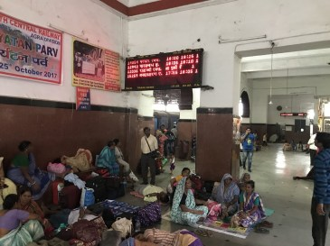 Train station in Agra