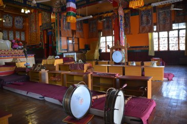 Main temple drums