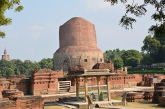 The ancient stupa