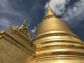 Golden domes at the palace