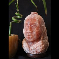 *Buddha Himalayan salt lamp | The Spice of Light